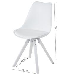 Krzesło do jadalni dema nowoczesne