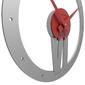 Zegar ścienny xavier calleadesign śliwkowy, różowy 10-015-34