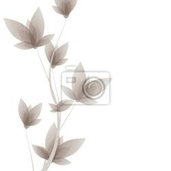 Naklejka wektor kwiatowy element projektu