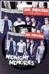 1d one direction - midnight memories - naklejka