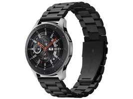 Bransoleta spigen modern fit band do galaxy watch 46mm  gear s3 black 22mm - czarny