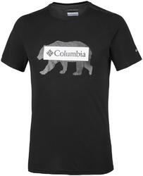 T-shirt męski columbia box logo bear em0745010
