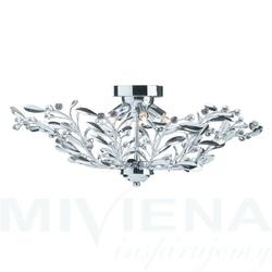 Lima lampa wisząca 6 chrom kryształ