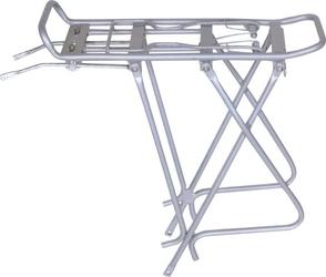 Bagażnik rowerowy 24-28 regulowany pod sakwy biały