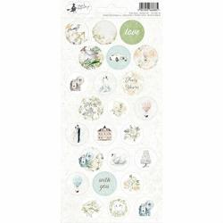 Stickersy naklejki Truly Yours 10,5x23 cm Ślub - 03