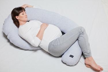 Poofi poduszka ciążowa organic - denim