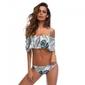 Strój kąpielowy bikini hiszpanka wysoki stan