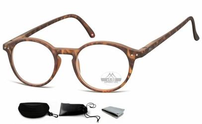 Asferyczne okulary lenonki do czytania montana plusy mr65a
