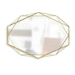 Umbra - lustro prisma - mosiądz