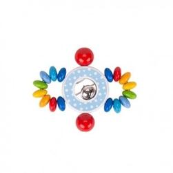 Grzechotka confetti z dzwonkiem