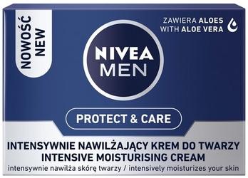 Nivea for men, intensywnie nawilżający krem do twarzy, 50ml