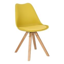 Krzesło norden star square pp żółte 1610 - żółty