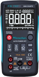 Miernik uniwersalny multimetr forscher fs707 - możliwość montażu - zadzwoń: 34 333 57 04 - 37 sklepów w całej polsce