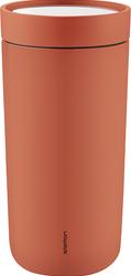 Kubek termiczny stalowy To Go Click 0,4 l pomarańczowy