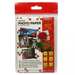 Logo foto papier, połysk, biały, 10x15cm, 4x6, 260 gm2, 2880dpi, 20 szt., 16720, atrament