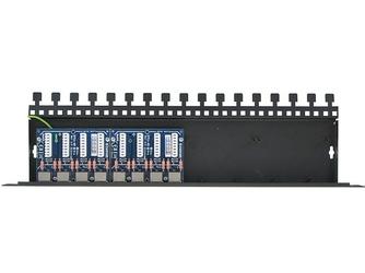 8-kanałowy panel zabezpieczający lan z ochroną przepięciową poe ewimar ptu-8r-ecopoe - szybka dostawa lub możliwość odbioru w 39 miastach