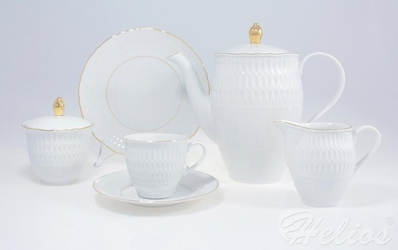 Garnitur do kawy dla 12 os. 39 części - 3604 sofia  złota