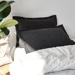 Moyha :: poduszka pięknie prosta antracytowa