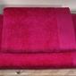 Bamboo style fuksja komplet ręczników bambusowych andropol - fuksja