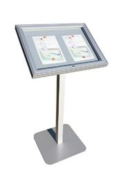 Stojak na menu zewnętrzny led a2 led menu stojak zewnętrzny a2