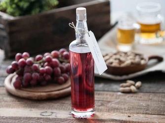 Butelka  karafka do wina i nalewki z korkiem hrastnik wallace 700 ml