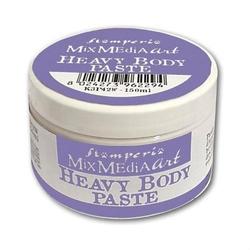 Pasta Heavy Body biała błyszcząca 150 ml Stamperia