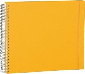 Album na zdjęcia Uni Maxi Mucho białe karty żółty
