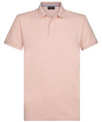 Męska koszulka polo profuomo jasnoróżowa s