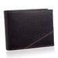 Stylowy portfel męski ze skóry bpm-sz-61 czarny