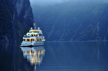 Fototapeta statek wycieczkowy w norwegii fp 2368