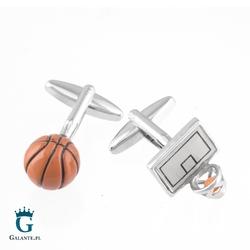 Spinki do mankietów x2 basketball mix