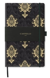 Notes castelli milano - copper  gold baroque gold