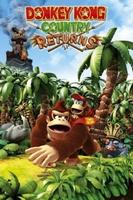 Nintendo donkey kong returns - plakat