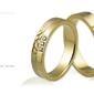 Obrączki ślubne - wzór au-580