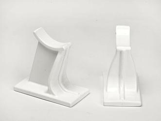 Uchwyt do grzejników kolumnowych - 65mm biały