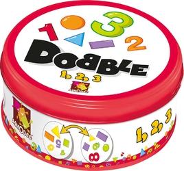 Dobble 123 - gra rodzinna na spostrzegawczość i refleks dla młodszych