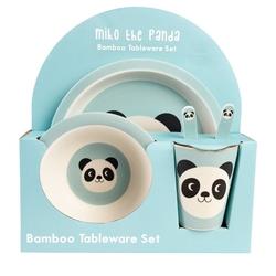 Zastawa dla dzieci, panda miko, rex london - wesoła panda