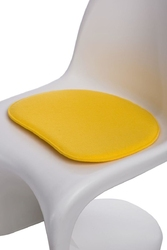 Poduszka na krzesło balance - żółty