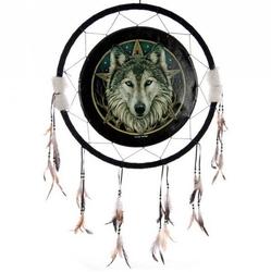 Magiczny wilk - duży łapacz snów, 60cm