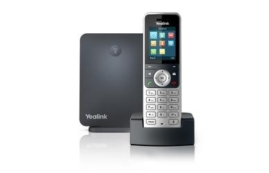 Yealink zestaw telefon + stacja w53p w60b+w53h+zasilacz