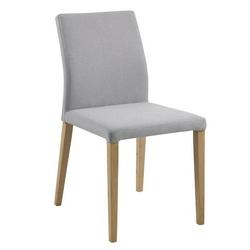 Krzesło do jadalni kama jasnoszary