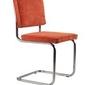 Zuiver :: krzesło ridge rib pomarańczowe 19a