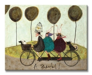 A bikeful - obraz na płótnie