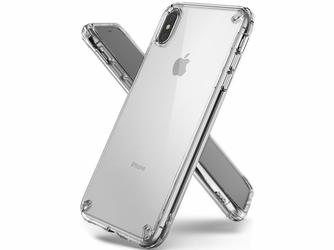 Etui Ringke Fusion Apple iPhone XS Max clear - Przezroczysty
