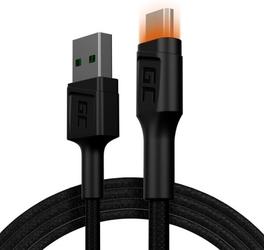 Green cell kabel ray usb-micro usb 120cm, podświetlenie led
