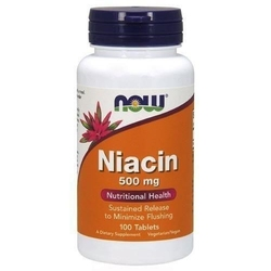 Now niacin 500mg - 100tabs