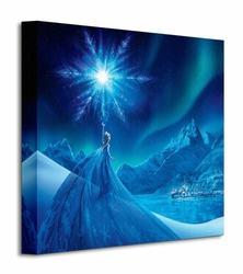 Frozen Elsa Ice Star - Obraz na płótnie