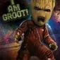 Strażnicy Galaktyki Vol. 2 Angry Groot - plakat