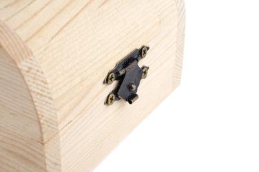 Skrzynka drewniania decoupage 8.7 x 5.5 x 6.3