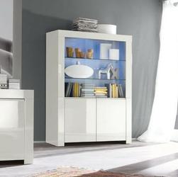 Amaretto biała włoska witryna szeroka 4d wysoki połysk